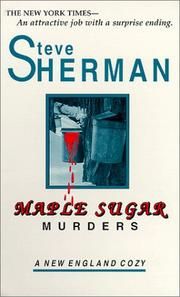 Maple sugar murders by Sherman, Steve
