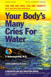 YOUR BODY'S MANY CRIES FOR WATER PDF