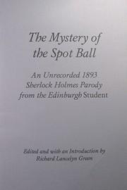 Mystery of the Spot Ball (Rupert Books Monograph S,) PDF
