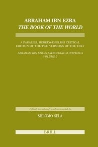 Download Abraham Ibn Ezra Book of the World (Etudes Sur Le Judaisme Medieval)