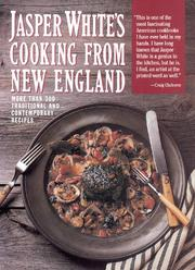 Cooking from New England by Jasper White