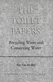 The toilet papers by Sim Van der Ryn
