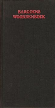 Bargoens woordenboek