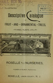 Descriptive catalogue of fruit and ornamental trees, vines, plants, etc PDF
