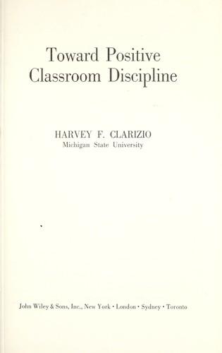 Download Toward positive classroom discipline