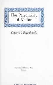 The personality of Milton PDF