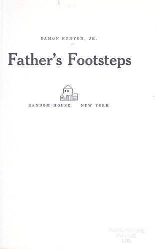 Father's footsteps.