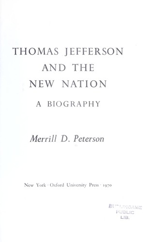 Thomas Jefferson and the new nation