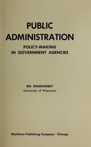 Download Public administration