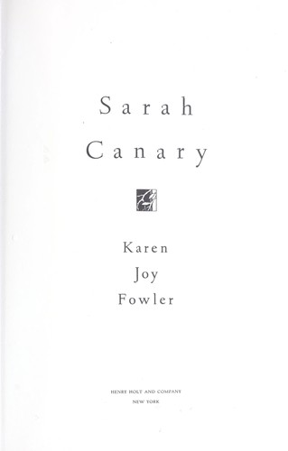 Download Sarah Canary