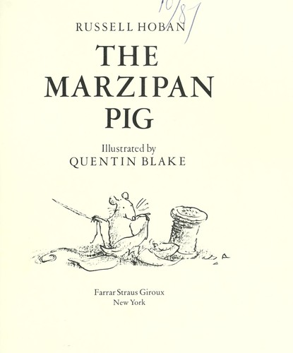 Download The marzipan pig