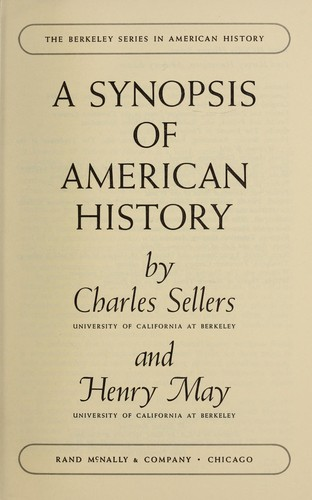 Download A synopsis of American history