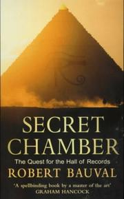 Secret Chamber by Robert Bauval