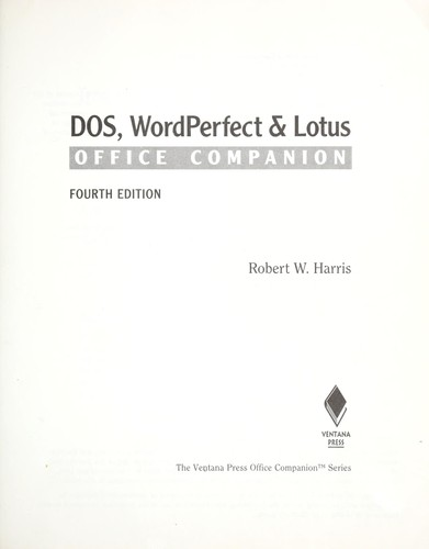 Download DOS, WordPerfect & Lotus office companion