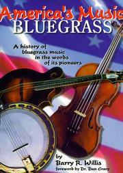 America's music, bluegrass PDF