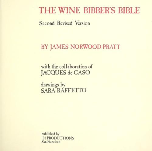 Download The wine bibber's bible