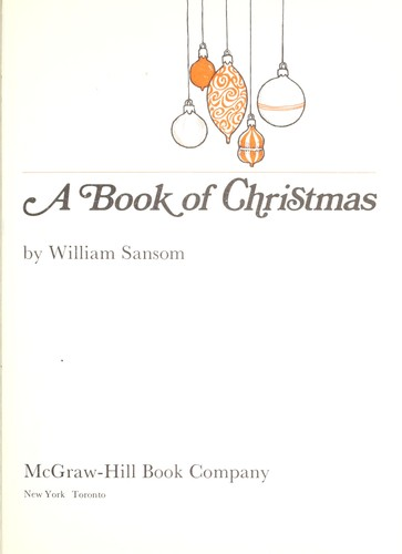 A book of Christmas.