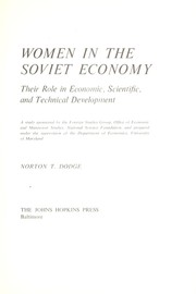 Women in the Soviet economy PDF