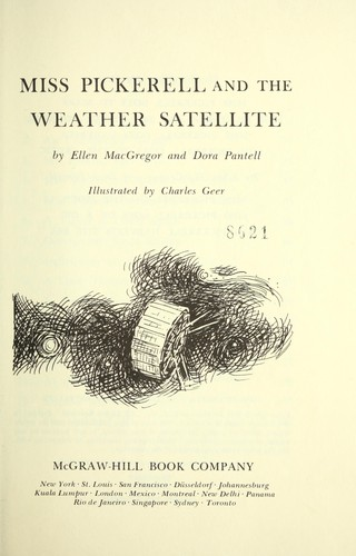 Miss Pickerell and the weather satellite