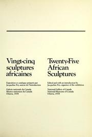 Vingt-cinq sculptures africaines = Twenty-five African sculptures : exposition et catalogue PDF