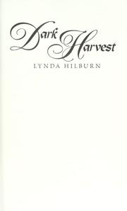 Dark harvest PDF