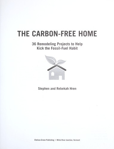 Download The carbon-free home