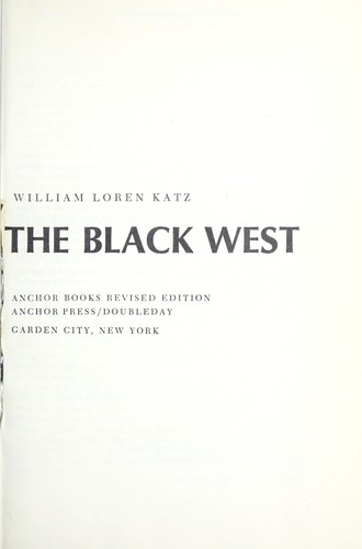 The Black West.