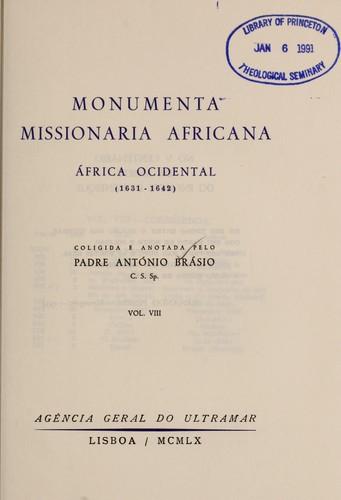 Download Monumenta missionaria africana.