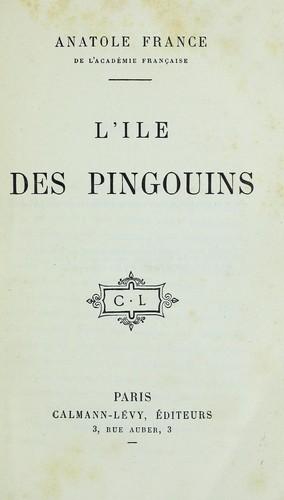 L'i ̂le des pingouins
