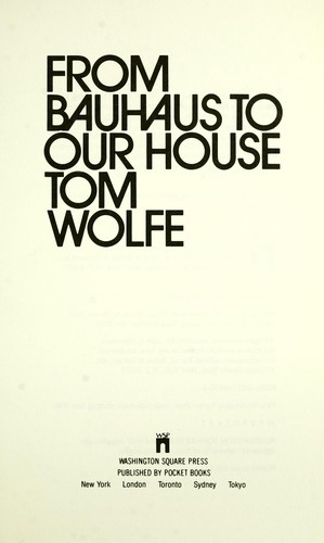 Download From Bauhaus to our house
