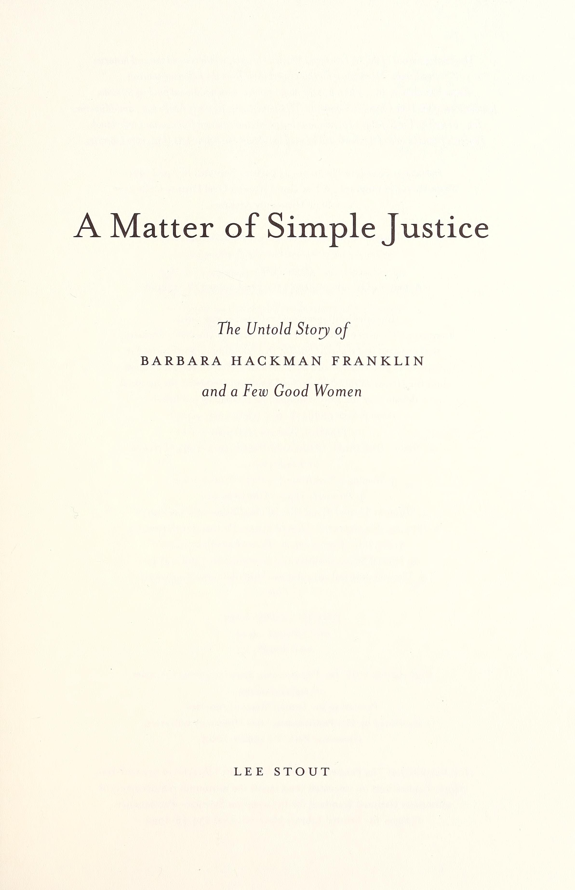 eBook A matter of simple justice download | online | audio id:erwmev9