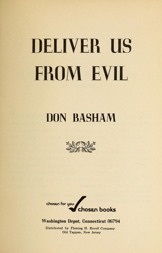 Deliver us from evil.