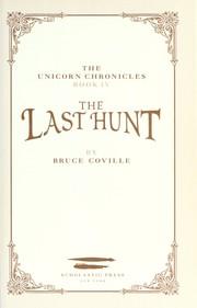 The Last Hunt PDF