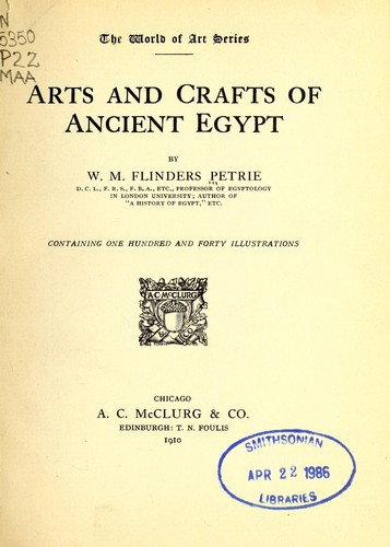 Download The arts and crafts of ancient Egypt