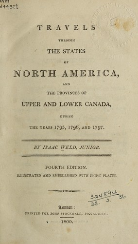 Download Travels through the states of North America