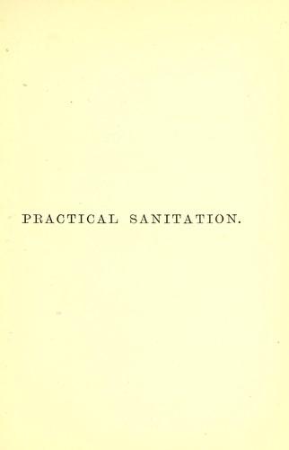 Practical sanitation