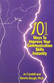 101 Ways to Improve Your Communication Skills Instantly, third printing, revised PDF