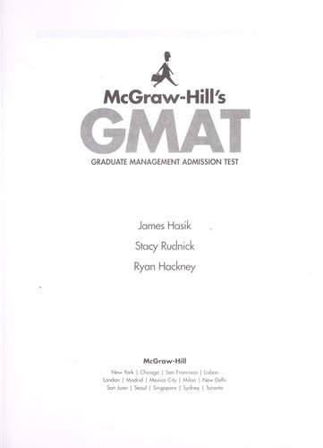 Download McGraw-Hill's GMAT
