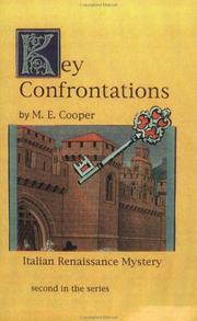 Key Confrontations (2nd in the Italian Renaissance Series) by M. E. Cooper
