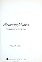 Arranging Flowers PDF