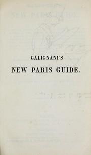 Galignanis new Paris guide