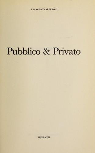 Pubblico & privato