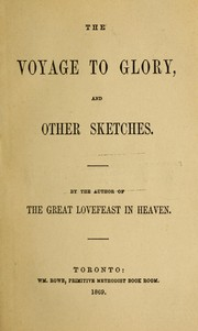 The voyage to glory, and other sketches PDF