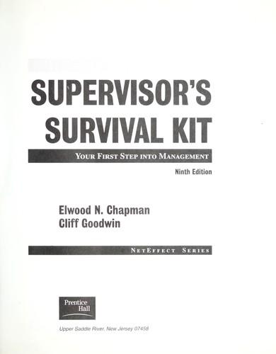 Download Supervisor's survival kit