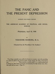 The panic and the present depression PDF