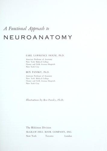 A functional approach to neuroanatomy