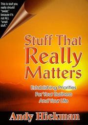 Stuff That Really Matters PDF