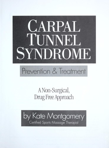 Download Carpal tunnel syndrome