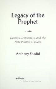 Legacy of the prophet PDF