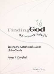 Serving the Catechetical Mission of the Church (Finding God) PDF